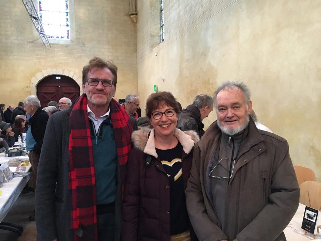 Roland Nadaus, poète mais aussi ancien Maire de Guyancourt et Président de l'agglomération de Saint Quentin en Yvelines.